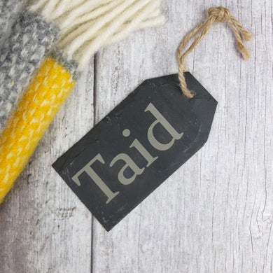 Taid Slate Tag Hanger