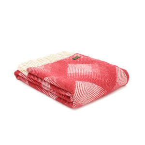 Red Prism Throw