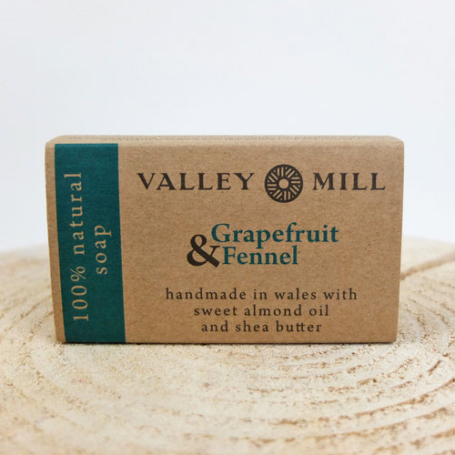 Valley Mill Grapefruit and Fennel Soap