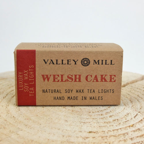 Valley Mill Welsh Cake Tea Lights
