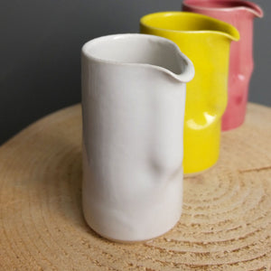 Ceramic Small White Jug