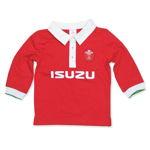 WRU Welsh Rugby Baby Shirt