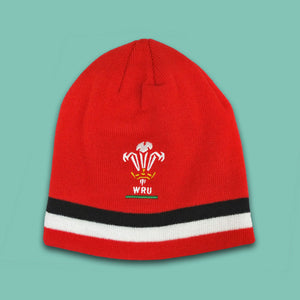 Wales Beanie Hat Official WRU