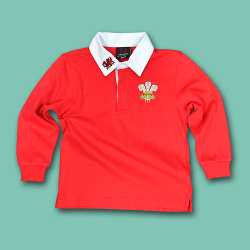 Classic Kids Wales Rugby Shirt