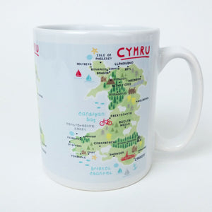 Welsh Map Mug