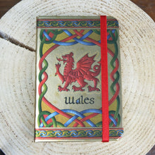 Wales Luxury Metalic Notepad