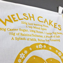 Welsh Cake Recipe Tea Towel