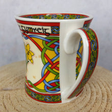 Welsh Daffodil Celtic Mug
