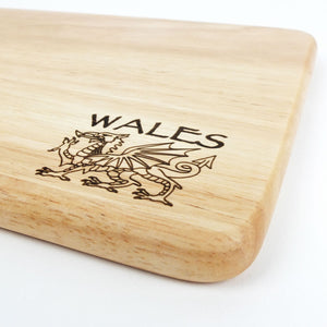 Welsh Dragon Cheese Board
