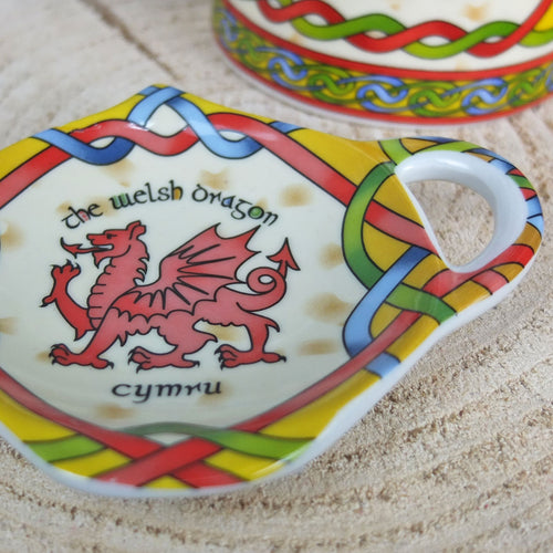 Welsh Weave Tea Bag Tidy