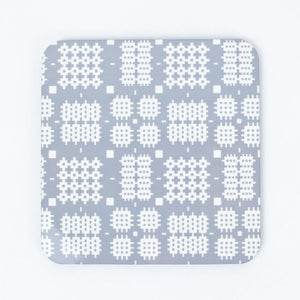 Welsh Tapestry Coaster Grey