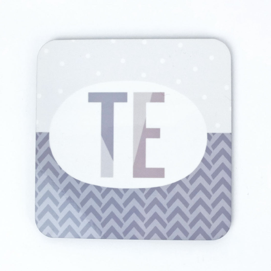 Welsh Te Coaster in Grey