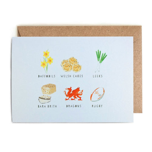 All Things Welsh Card