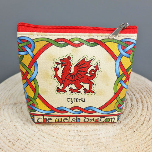 Welsh Weave Dragon Purse