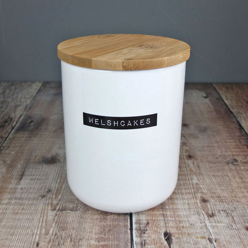 Welshcakes Bone China Container