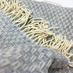 Tweedmill Grey Willow Merino Throw