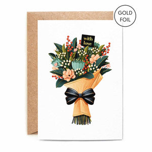 With Love Bouquet Card