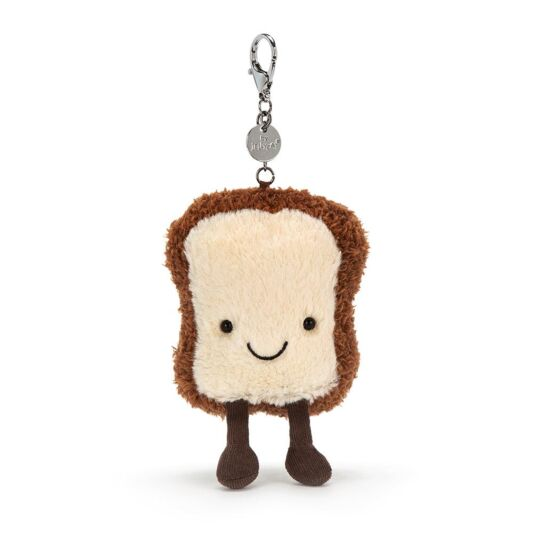 Amusable Toast Bag Charm by Jellycat