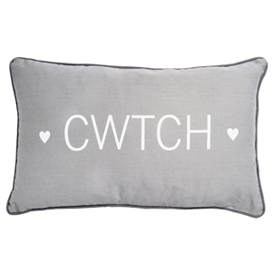 Cwtch Grey Cushion