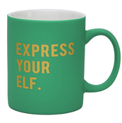Express Your Elf  Christmas Mug