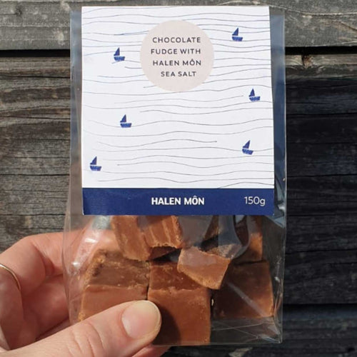 Salted Chocolate Fudge by Halen Mon