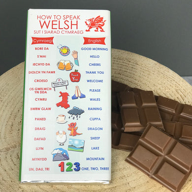 How To Speak Welsh Chocolate Bar