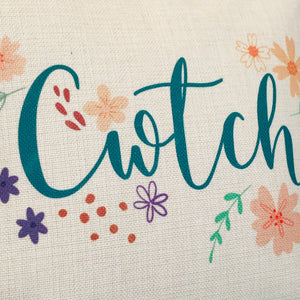 Cwtch Floral Cushion