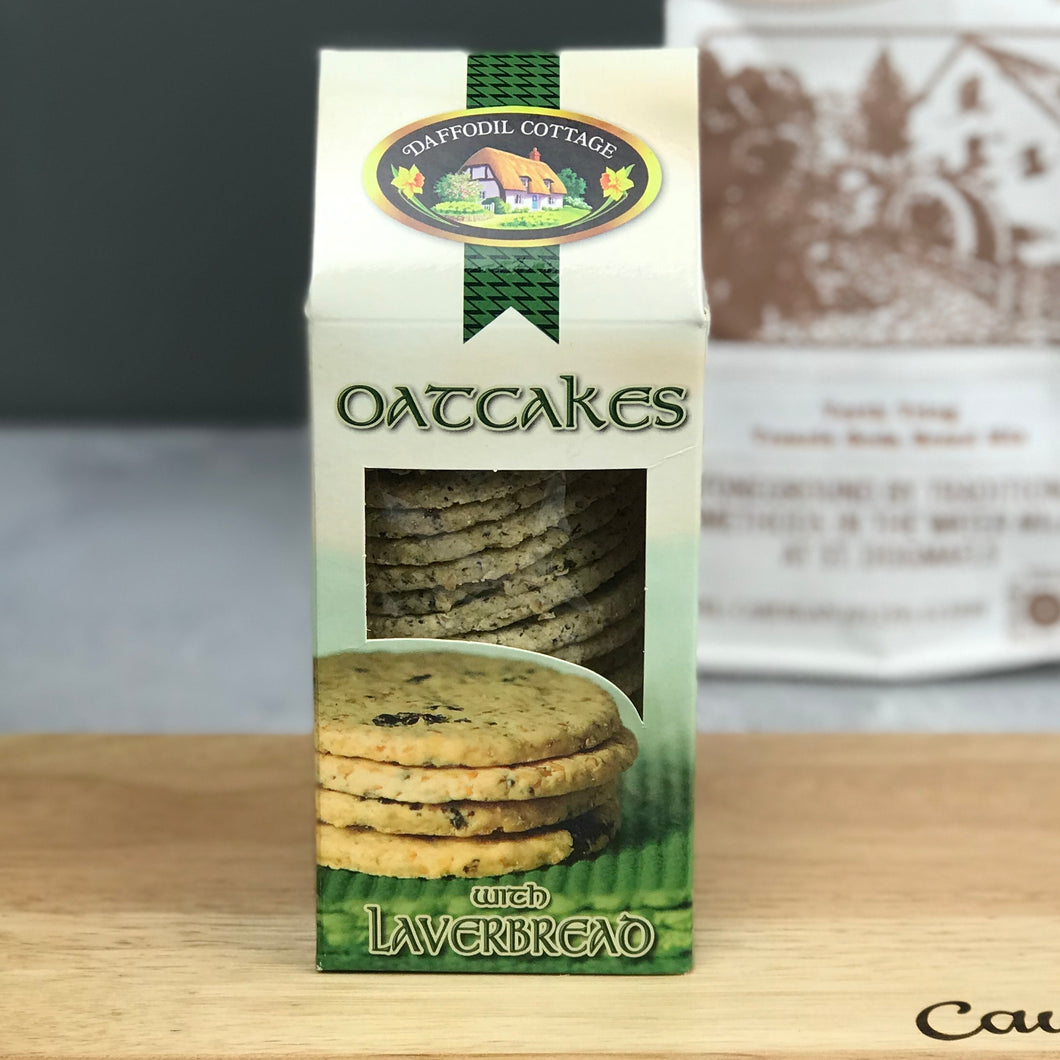 Oatcakes with Laverbread