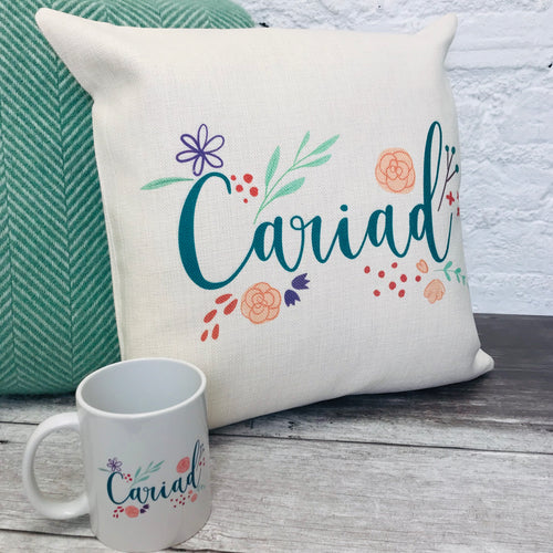 Cariad Floral Cushion