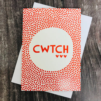 Dotty Cwtch Card