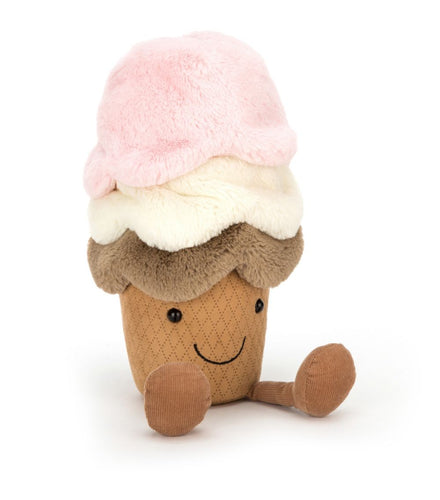 Amusable Ice Cream by Jellycat