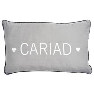 Cariad Grey Cushion