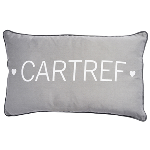 Cartref Grey Cushion