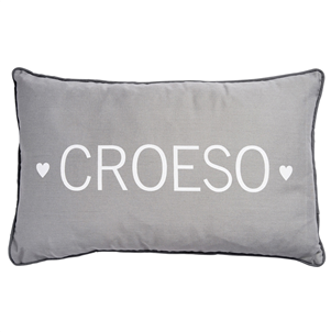 Croeso Grey Cushion