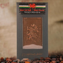 Milk Chocolate Welsh Flag by Wickedly Welsh