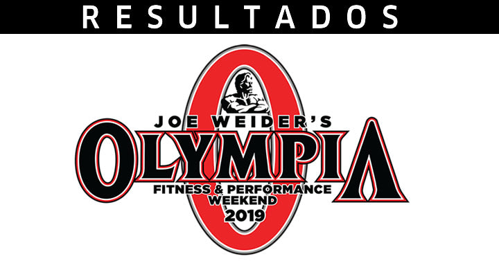 Resultados Mr. Olympia 2019 - logo do Mr. Olympia.
