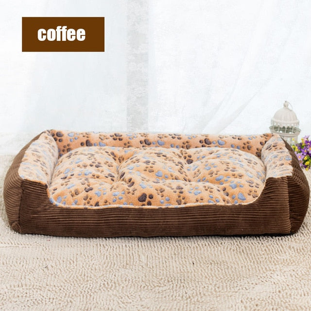 Top Selling Dog Beds Top Quality Large Breed Dog Bed Sofa Mat House 3 Size Cot Pet Bed House for large dogs Big Blanket Cushion Basket Supplies