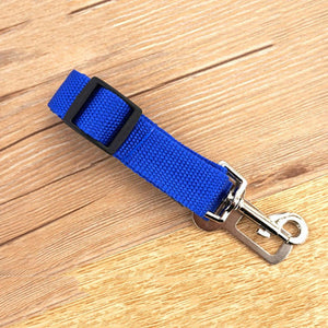 Vehicle Car Pet Dog Seat Belt Puppy Car Seatbelt Harness Lead Clip Pet Dog Supplies Safety Lever Auto Traction Products