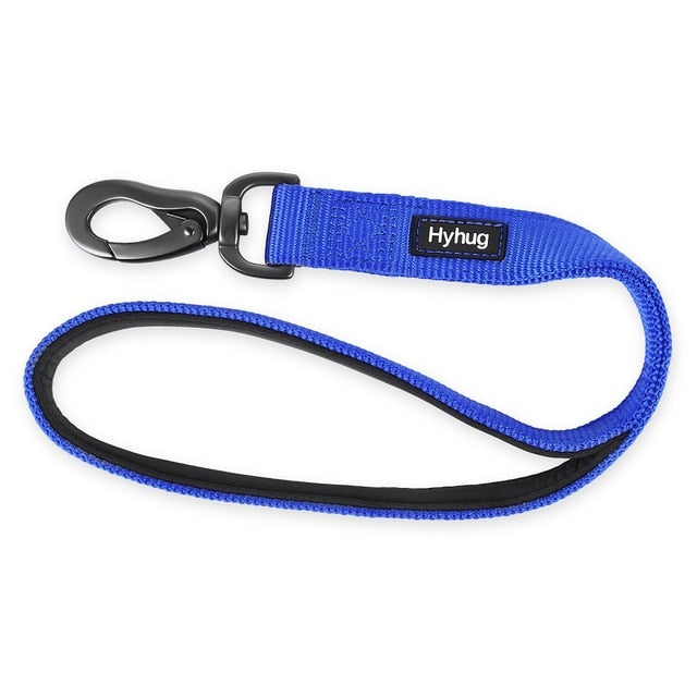Pet Training Leash Short Dog Leashes Walking Nylon Padded Lead Rope Pets Supplies For Training For Medium And Large Dogs HY021