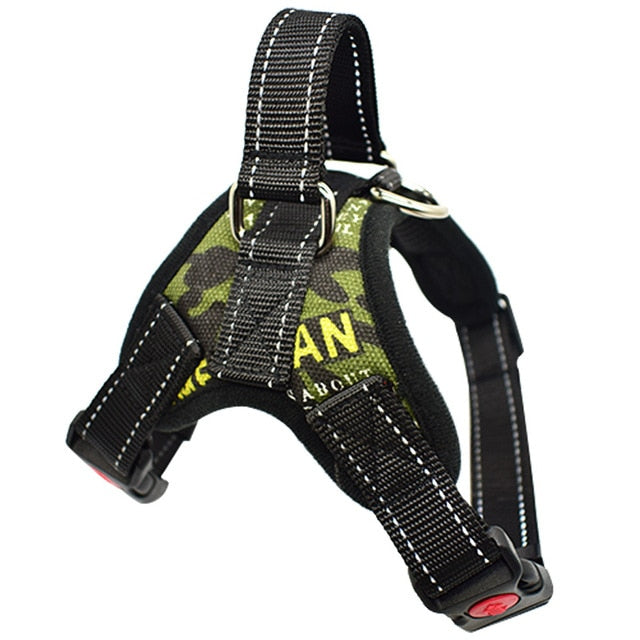 No-pull Sport Reflective Adjustable Nylon Dog Harness For Small Medium Large Dog SafeTraining Walking Pet Chest Vest Harnesses