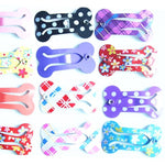 Mini pet hair bows pet dog grooming bows Pet hair clips hairpin teddy exquisite hair accessory Pet clips