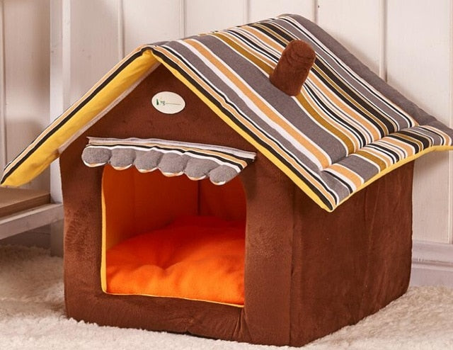 Top Selling Dog Beds New product 2019 Dog Bed soft Kennel Kennel Pet cat puppy home house removable products for pets DB024