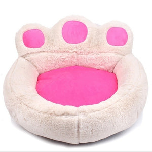 Top Selling Sofas For Dogs Paw Shape Washable Sleeping Dog Bed House Soft Warm Wear Resistant Pet Bed Cat or Puppy