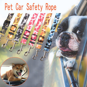 Top selling pet seat belt, pet car seat belt, best selling pet belt  dog safety rope Leashes for Dog
