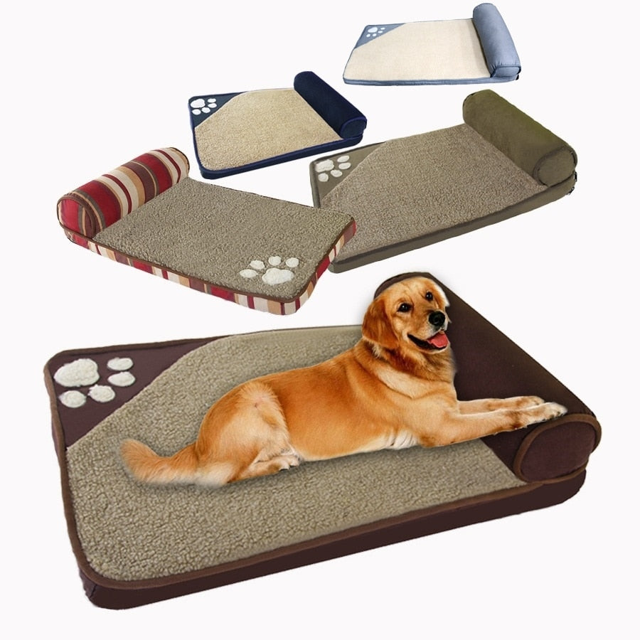Top Selling Dog Beds pets dog bed sofas large Kennel medium dogs Husky Golden hair Teddy small pet pillow bed DB9004
