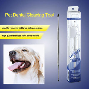 Double Sided Pet Dog Cat Tooth Scaler Tools Tooth Scaler Remover Scraper Dental Mirror Probe Pet Dentistry Accessories Tools
