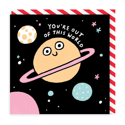 Out Of This World Square Greeting Card