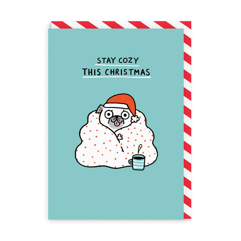 Stay Cosy This Christmas Greeting Card