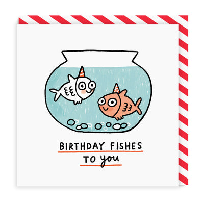 Birthday Fishes To You Greeting Card
