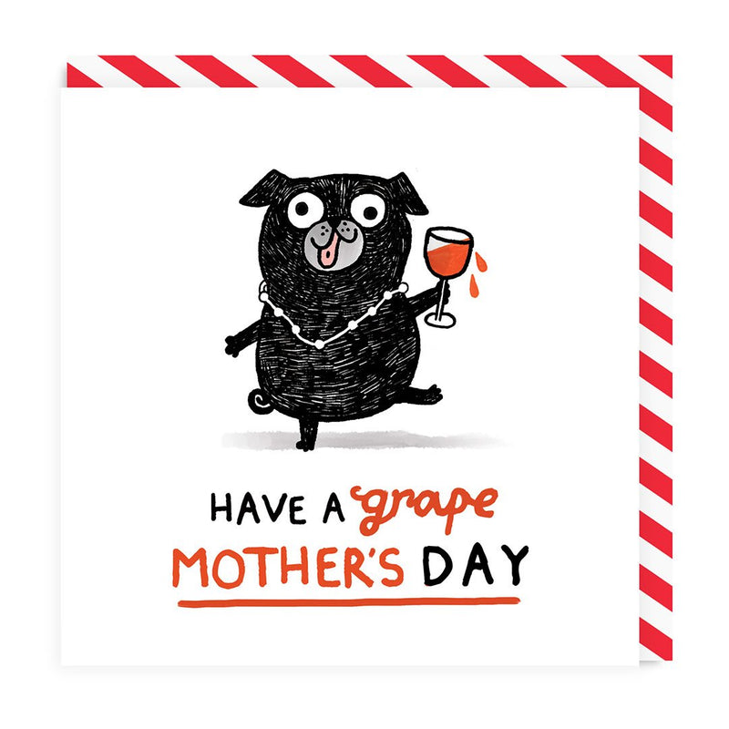 Grape Mother's Day Greeting Card